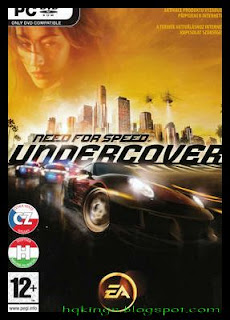 Need For Speed UnderCover PC COVER