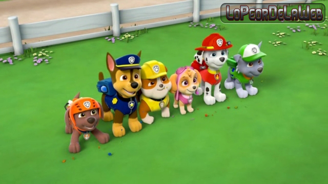 Paw Patrol :Marshall And Chase On The Case 2015 DVDRip latin