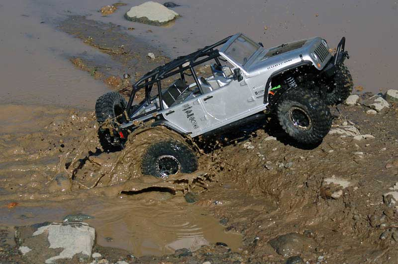 SCX10 Jeep Wrangler Unlimited Rubicon MrBoo