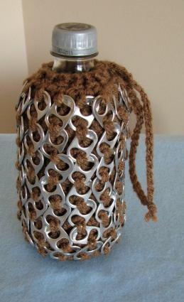 Ellene Warren :: Crocheted Beaded Belt with Bonus i-Pod or i-Glass