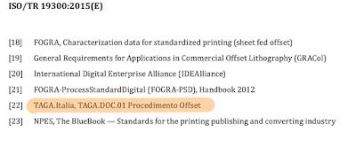ISO TR 19300 e TAGA.DOC.01