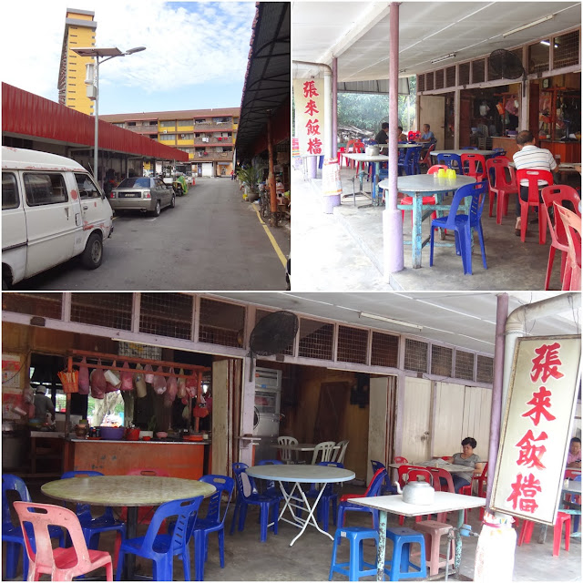 Long nostalgic and affordable lunch restaurant hidden behind Old Town Flats within Old Ipoh Town in Ipoh, Perak, Malaysia