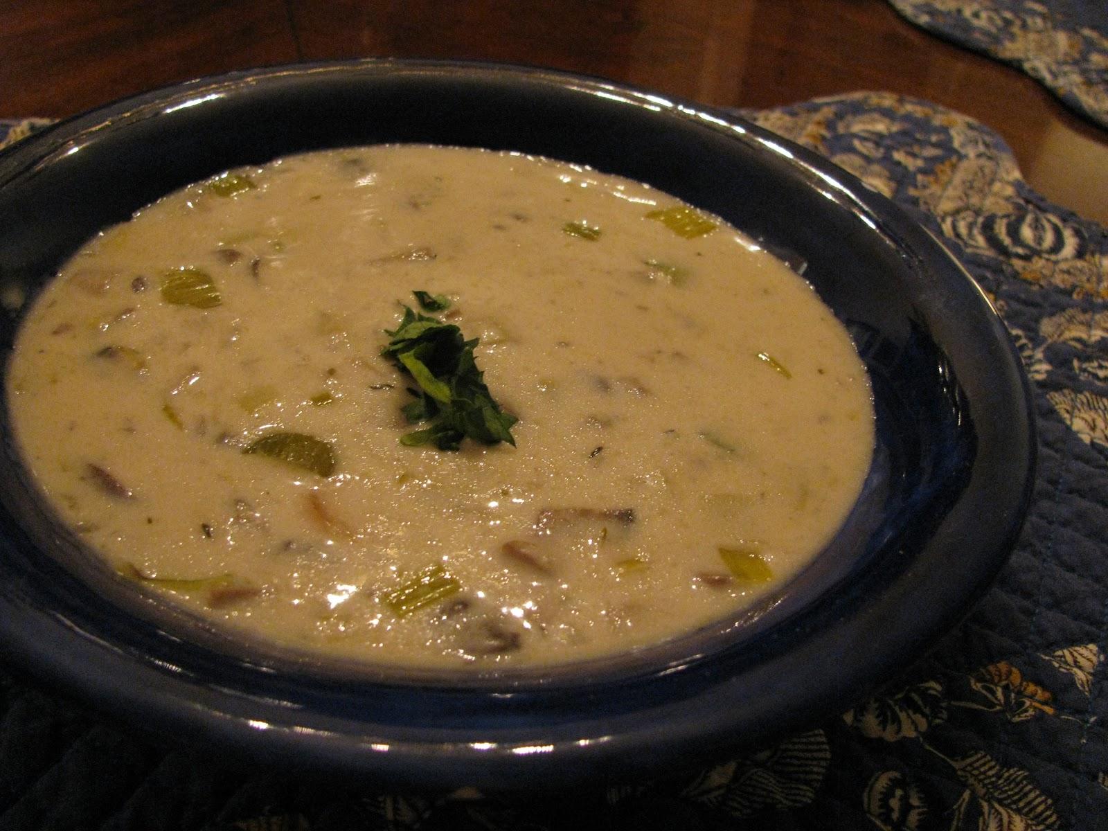 Desperation Dinners: Mushroom Soup recommend