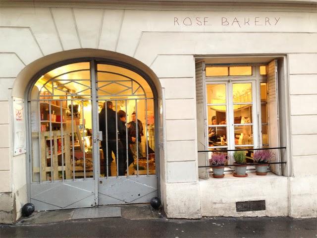 Rose Bakery rue des martyrs Paris