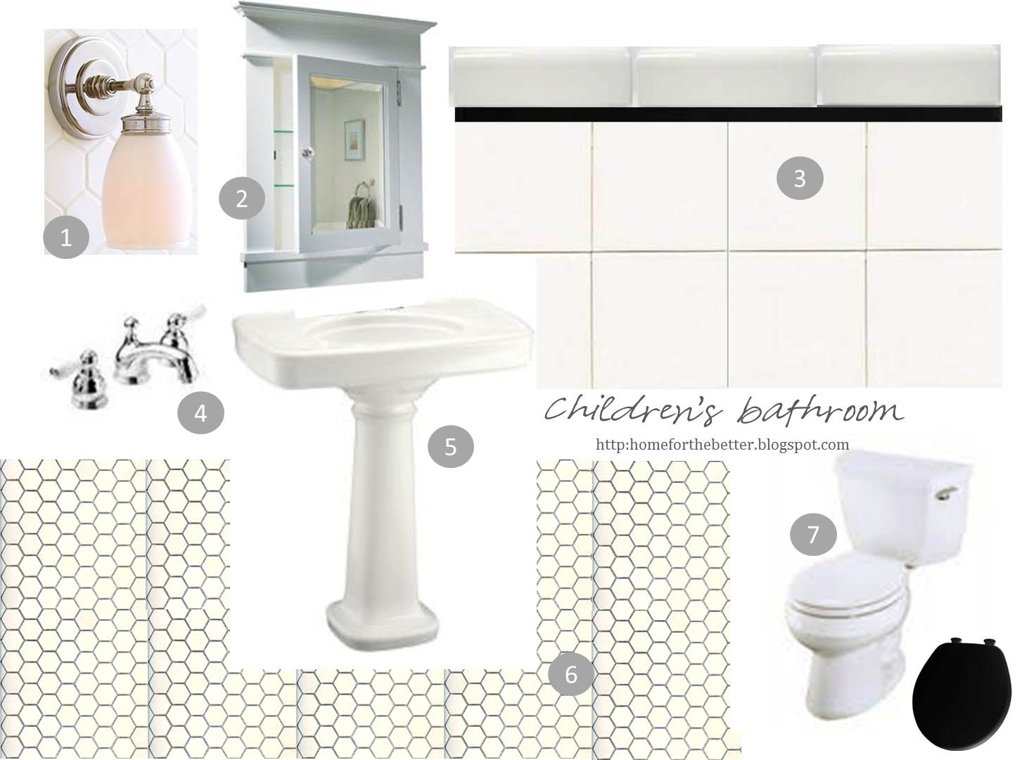 Bathroom Design Board woohooie: children's bathroom design board