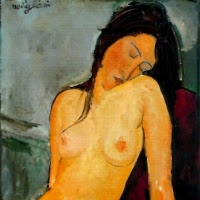 'Nu femení assegut' (Amedeo Modigliani)