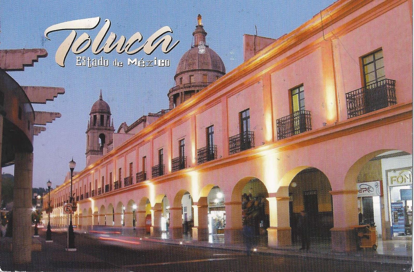 a journey of postcards los portales de toluca mexico. Black Bedroom Furniture Sets. Home Design Ideas