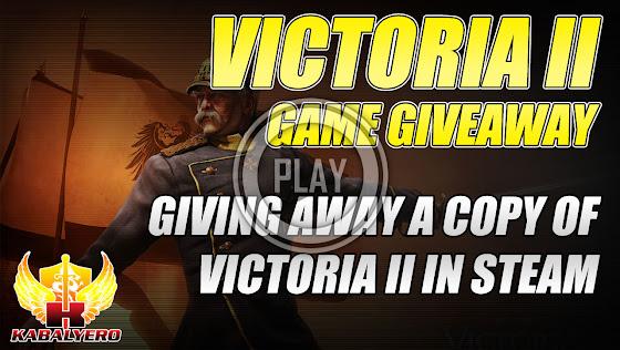 Victoria II Game Giveaway (STEAM)