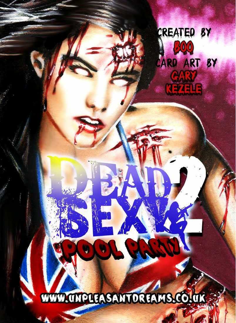 DeadSexy2 Pool Party Cardback 2