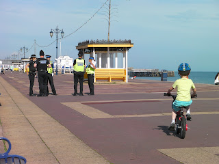 police search teams southsea seafront