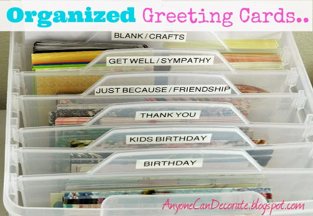 Anyone Can DecorateMy Most Popular Blog PostGreeting Card
