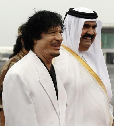 Qatarai%2BEmir%2Band%2BGaddafi