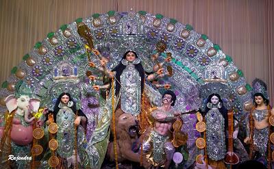 Rajendra here, Maa Durga, Durga Puja 2012