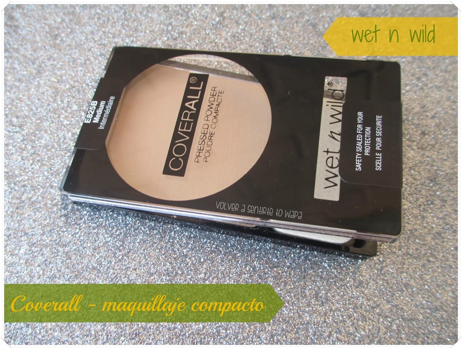 Coverall Pressed Powder, el maquillaje compacto de Wet n' Wild