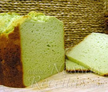 receita de pão preparado com erva cidreira