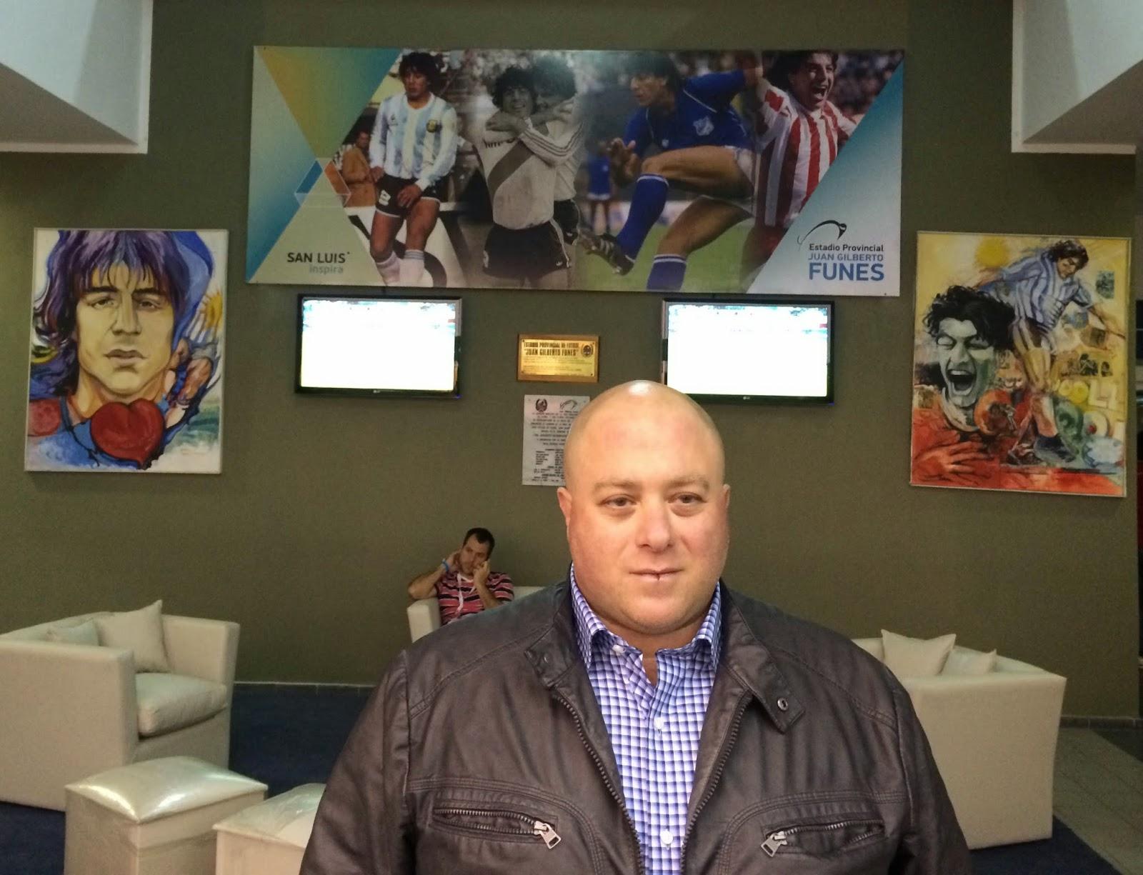 Antonio Caselli, San Luis, Caselli, River, River Plate, Juan Gilberto Funes, Estadio,