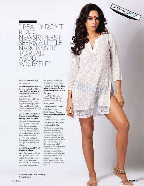 hot Mallika Sherawat in FHM 2011
