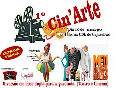 TEATRO E CINEMA, 10 DE MARÇO, NO CDL, DE GRAÇA.