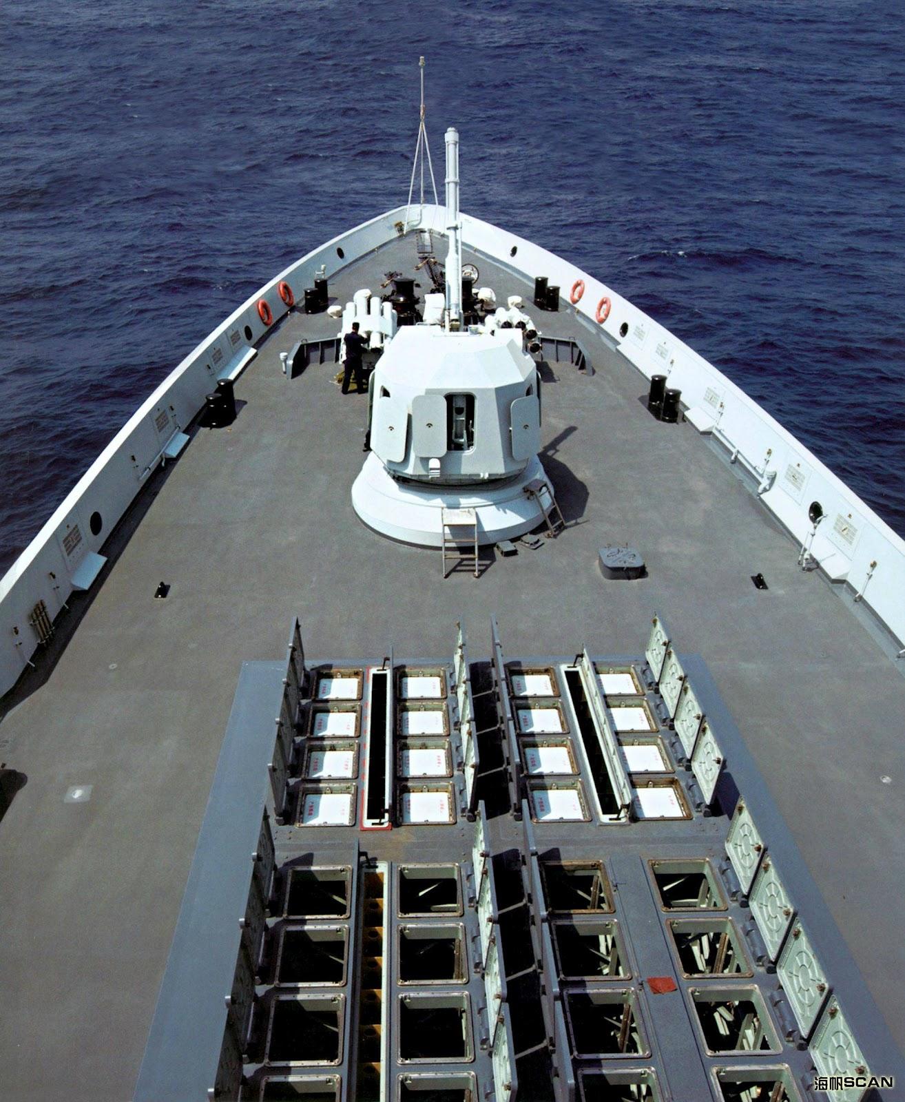 التنين الصيني وسهامه المميته ( حصري وشامل ) Type+054A+Jiangkai+II)+frigate+Chinese+People's+Liberation+Army+Navy+HQ-16+(Hongqi-16)+naval+9K37M1-2+system+Shtil+(SA-N-12)+missile
