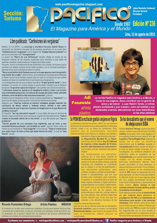 Revista Pacífico Nº 236 Turismo