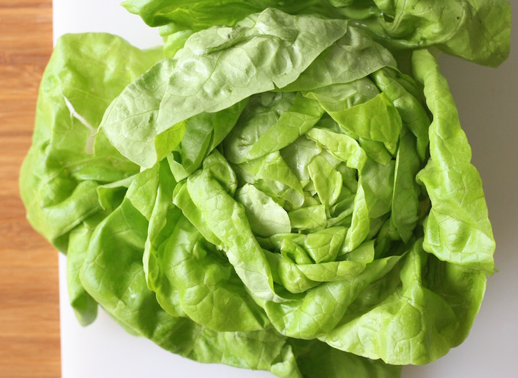 butter lettuce for asian lettuce cups recipe