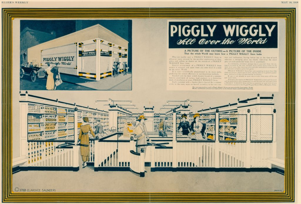 Piggly Wiggly Inside