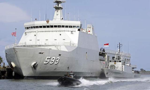 Butuh Tambahan 12 Kapal Landing Platform Dock (LPD) Untuk Jaga Maritim RI dari Ilegal Fishing