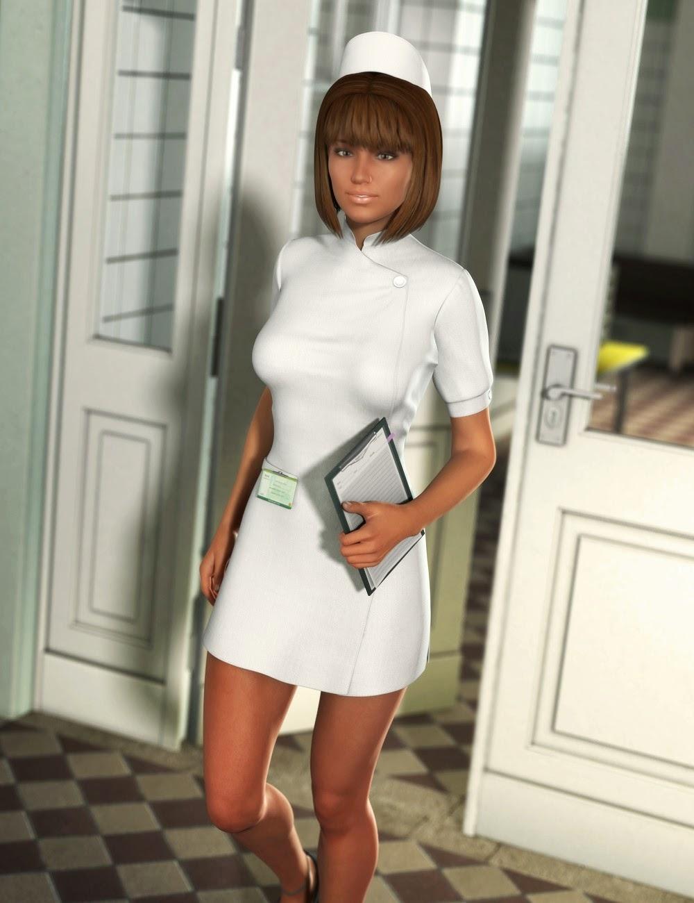 Cure Vous Nurse Outfit et Props