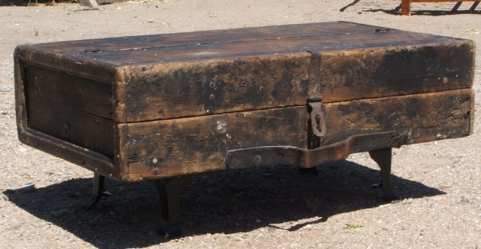 Vintage Carpenter's Chest - Trunk - Toolbox - Antique
