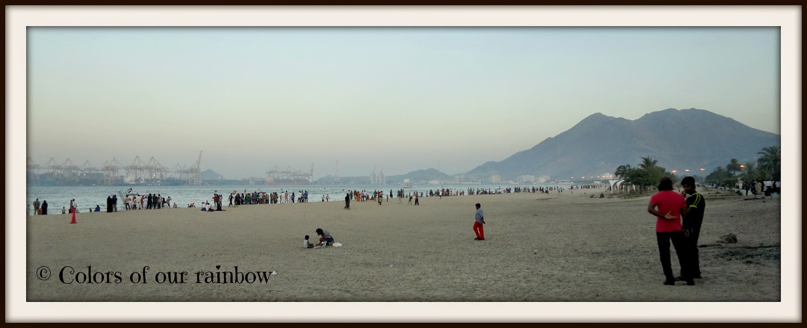 The Khorfakkan beach @colorsofourrainbow.blogspot.ae