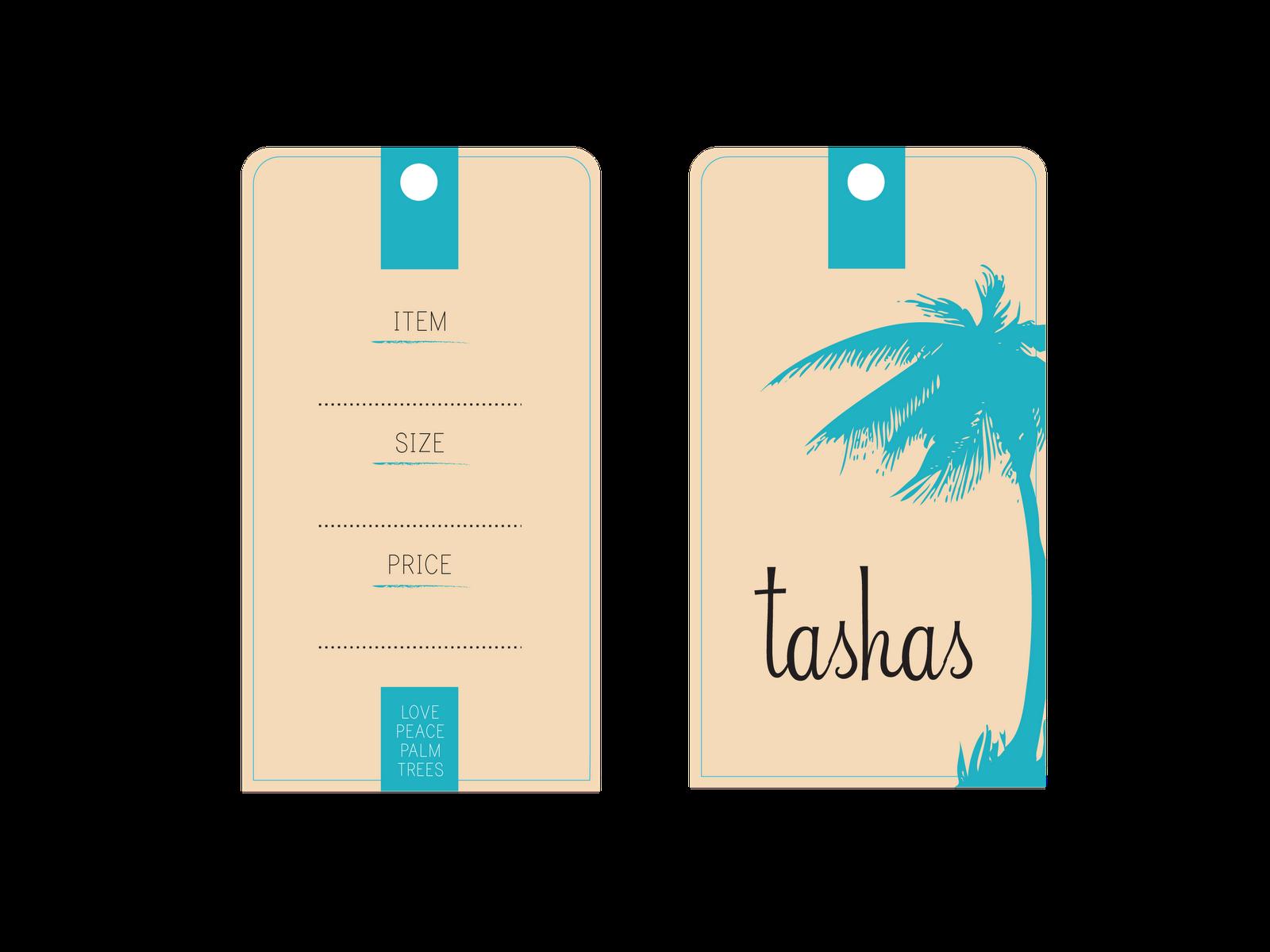Elixir Designs TASHAS – Clothing Tag Template