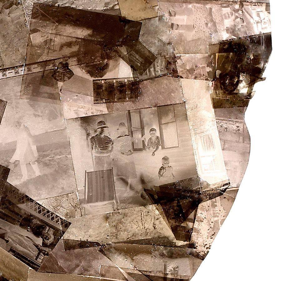 Montagem de fotos com negativos por  Nick Gentry