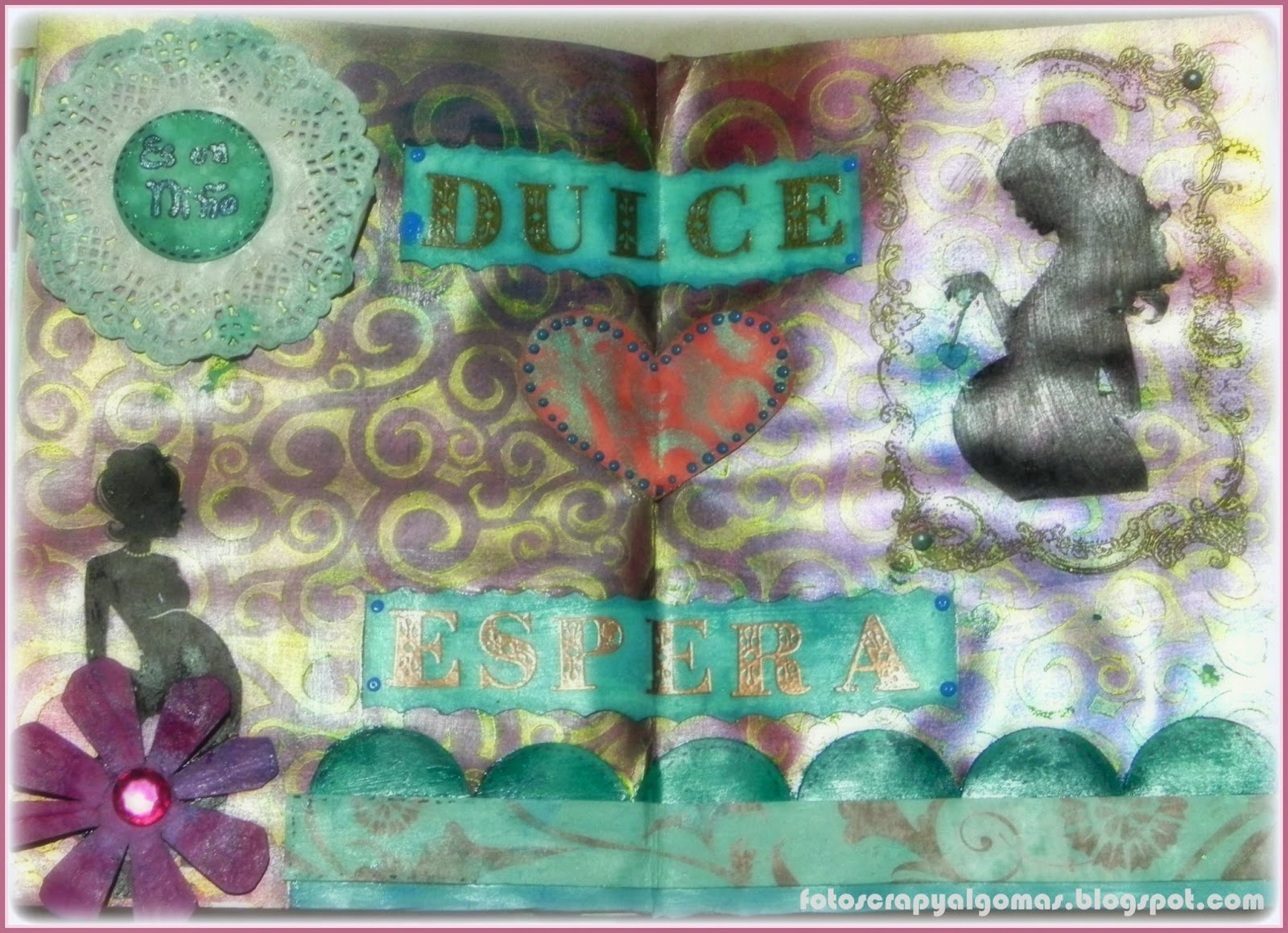 Mixed Media - Art journal