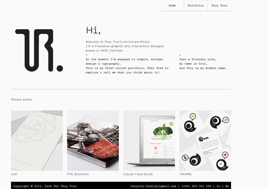 designs article graphic design portfolio websites examples