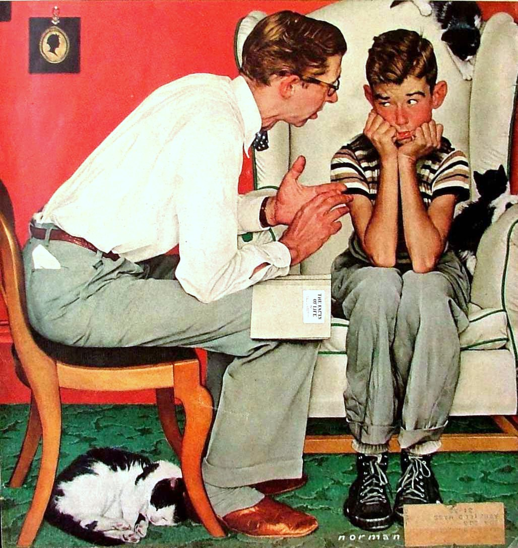 the life of norman rockwell The family of norman rockwell is waging a fierce campaign against a new biography of him, bristling at the book's suggestions that rockwell, artist of small-town americana, could have been.