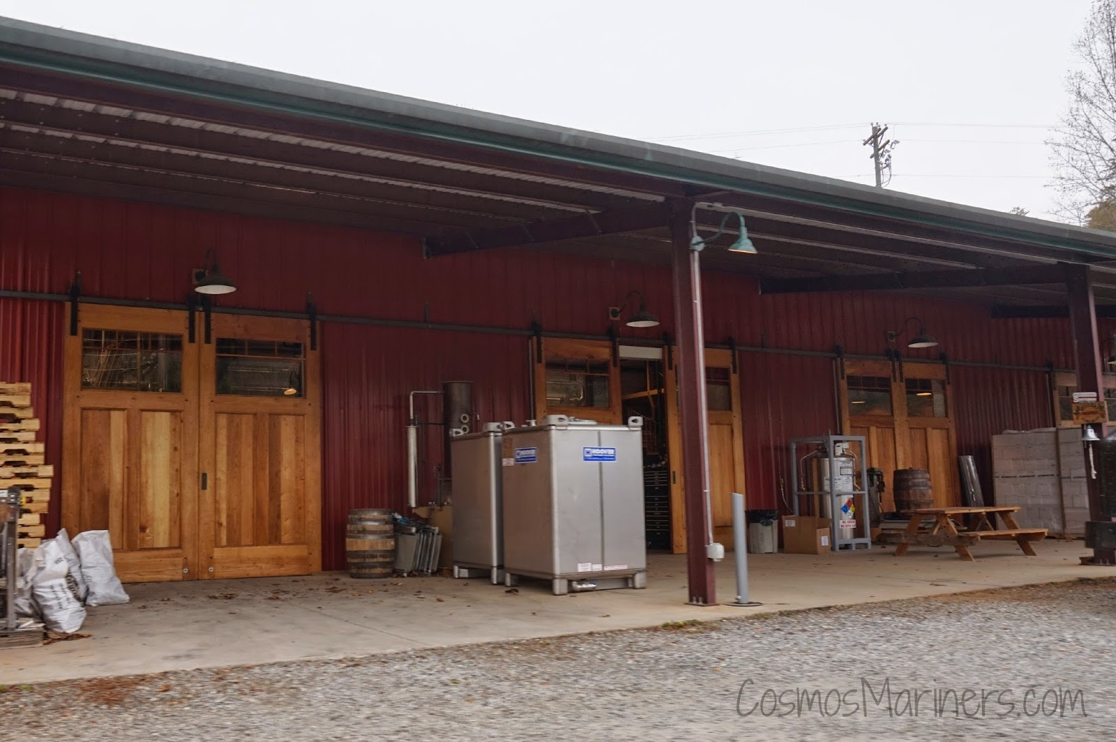 Defiant Whiskey, Blue Ridge Distillery, Golden Valley, NC | CosmosMariners.com