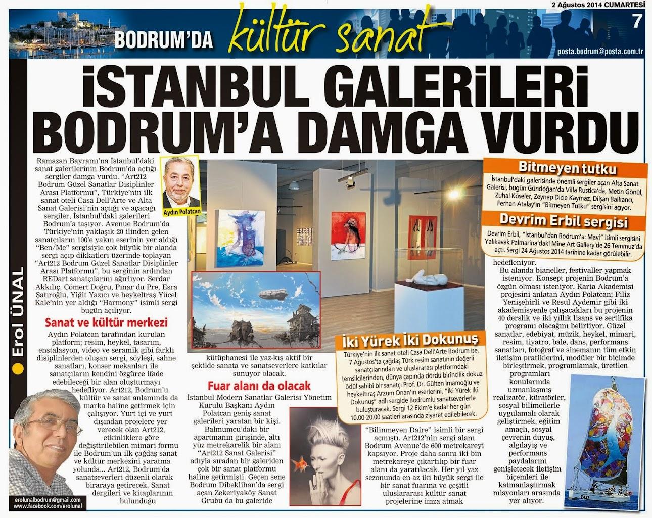 55 İSTANBUL GELERİLERİ