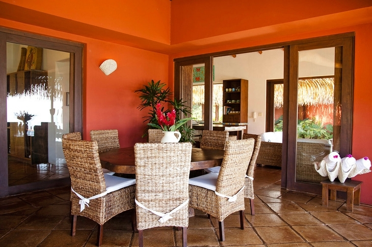decoracion de patios interiores rusticos : decoracion de patios interiores rusticos:ESTILO RUSTICO: ROJO RUSTICO EN INTERIORES