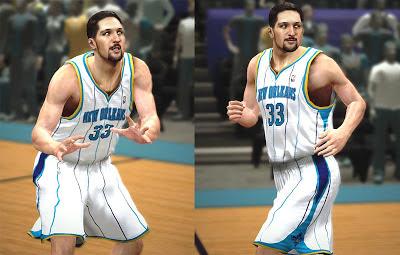 NBA 2K13 Ryan Anderson Cyberface Patch