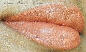 Kryolan Lipstick in Shade LC 131 On my lips