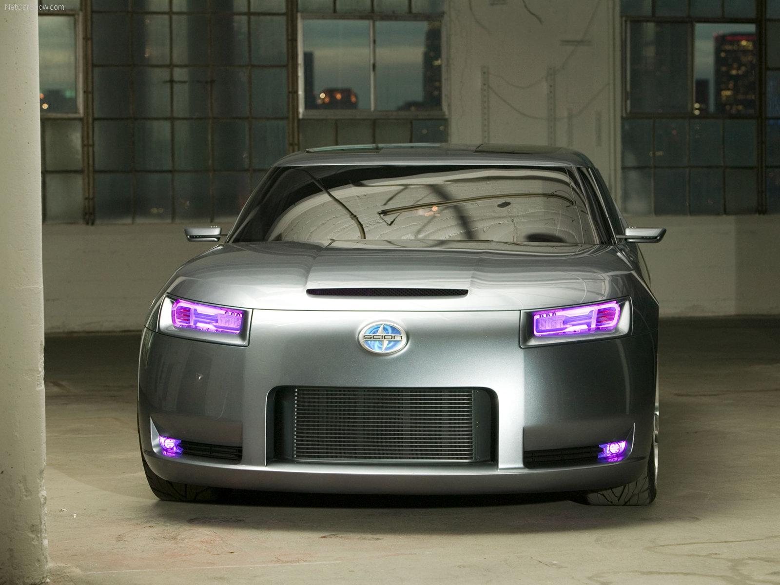 Hình ảnh xe ô tô Scion FUSE Concept 2006 & nội ngoại thất