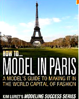 MODEL IN PARIS BOOK