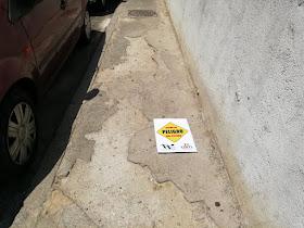 Urge arreglar la acera de Mariano Fernández (Tetuán)