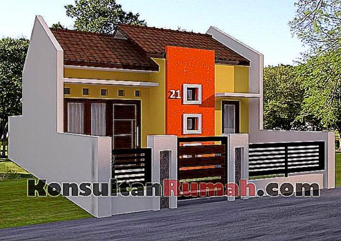 Contoh Rumah Type 21 2015   Gambar Rumah   Desain Rumah Minimalis