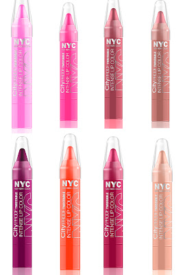 N.Y.C. New York Color, N.Y.C. New York Color City Proof Twistable Intense Lip Color Collection, lipcolor, lip color, lipstick, lip balm, lipgloss, lip gloss, makeup, beauty giveaway, A Month of Beautiful Giveaways, lip crayon