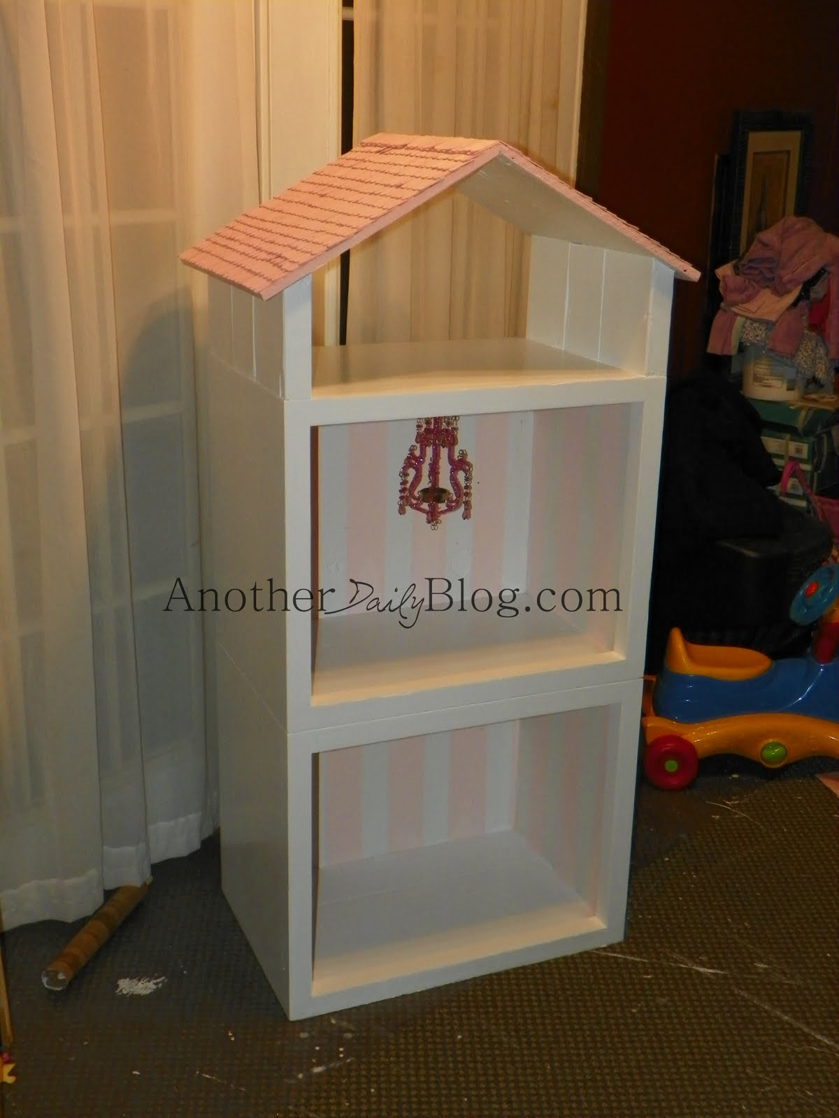 Another Daily Blog Homemade Barbie House out of Re purposed 70s