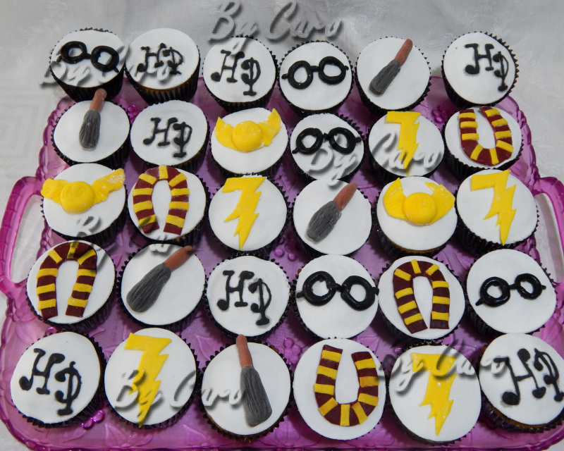 """CUPCAKES  Harry Potter """