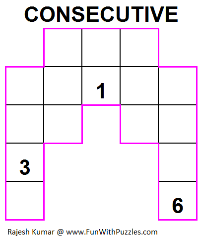 Consecutive (Mini Puzzles Series #15)