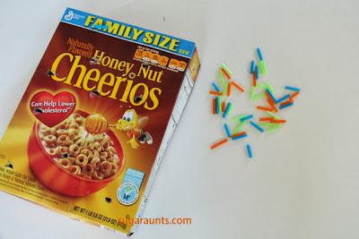 Cereal Box Tripod Grasp, Bilateral hand Coordination, Visual Scanning