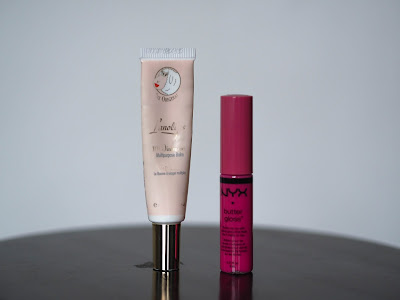 Lanolips 101 Ointment Multipurpose Balm + NYX Butter Gloss in 01 Strawberry Parfait